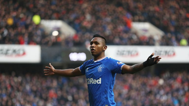 Alfredo Morelos may be rested for the Aberdeen game