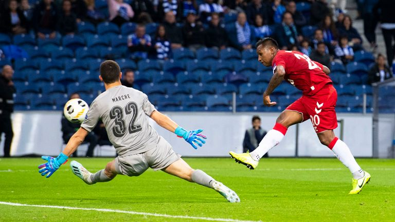 Goal scorer Aribo says Rangers 'buzzing' as they stay in title contention