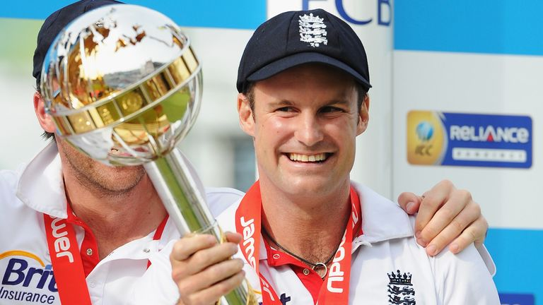 Andrew Strauss led England to No 1 in the world in 2011 and captains our team of the decade