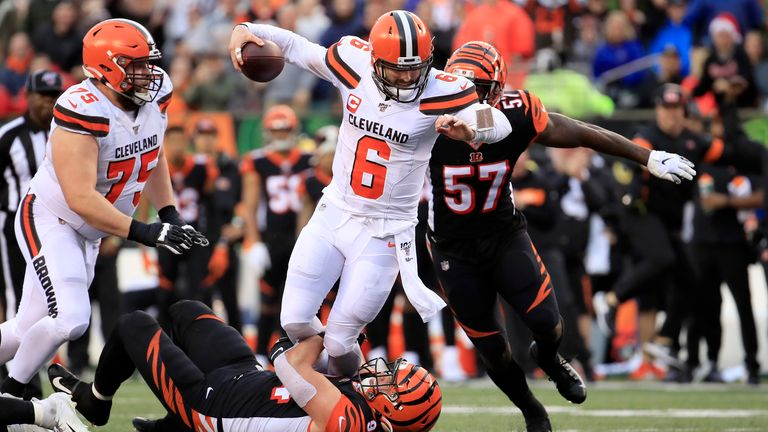 Quarterback Baker Mayfield took a step back in his sophomore season