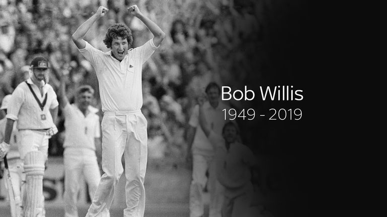 Former England captain and fast bowler Bob Willis dead at 70