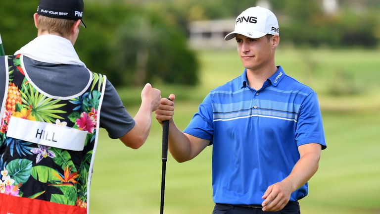 Rozner creates 3-way tie for the lead at the Mauritius Open