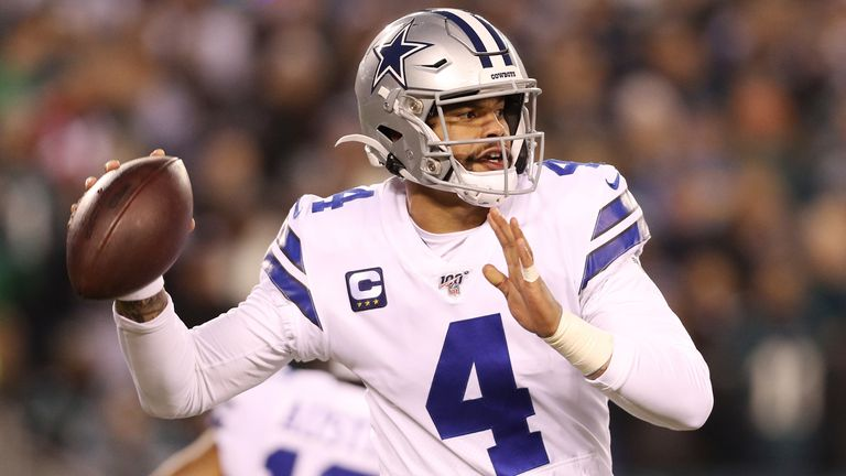 The Eagles limited Dak Prescott and the Cowboys to three field goals and no touchdowns