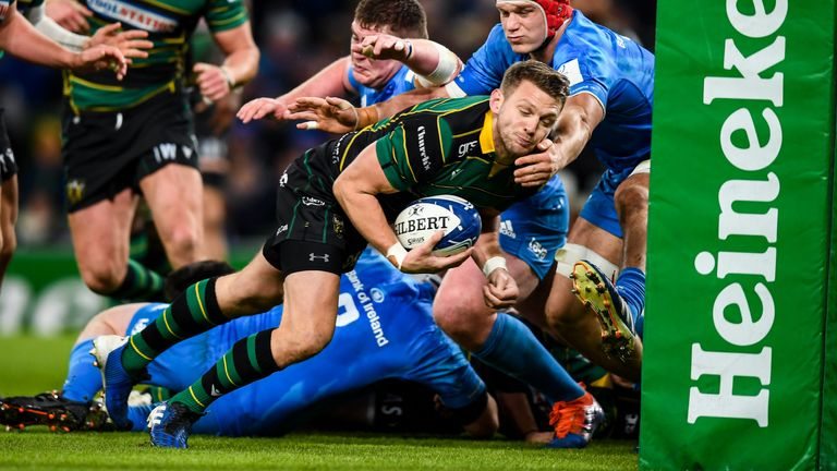 Dan Biggar's try was little more than a consolation for Northampton