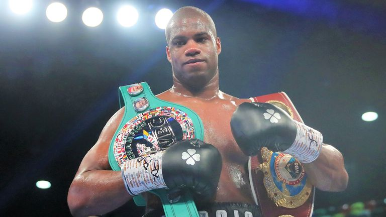 Daniel Dubois is a rival contender for Parker in the WBO rankings