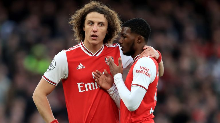 David Luiz is known to help younger players around the club