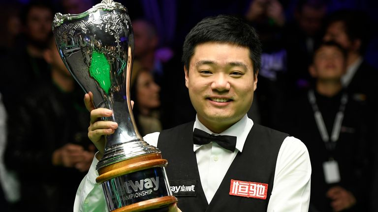 Ding Junhui won the UK Championship at The Barbican in York