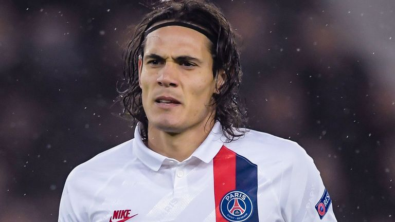 Edinson Cavani joined Paris Saint-Germain from Napoli in 2013 but handed in a transfer request earlier this month