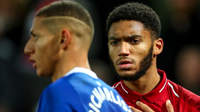 Everton goalkeeper Pickford dismisses Jones Liverpool victor  - to his face