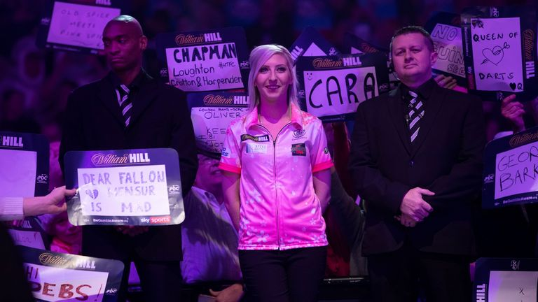 Fallon Sherrock to play in all 2020 World Series of Darts events