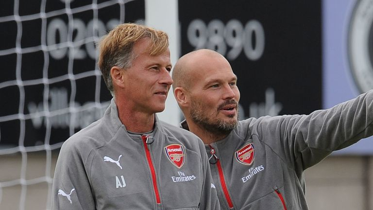 Andries Jonker was head of Arsenal's academy when Freddie Ljungberg was working up the system