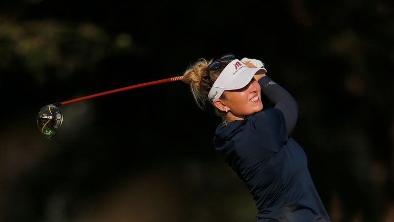 Madsen carded three double-bogeys during her final round