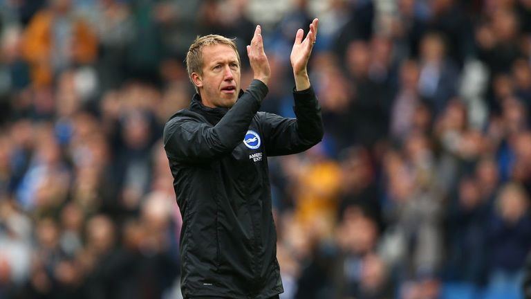Brighton have won four out of 14 league games at the Amex this season