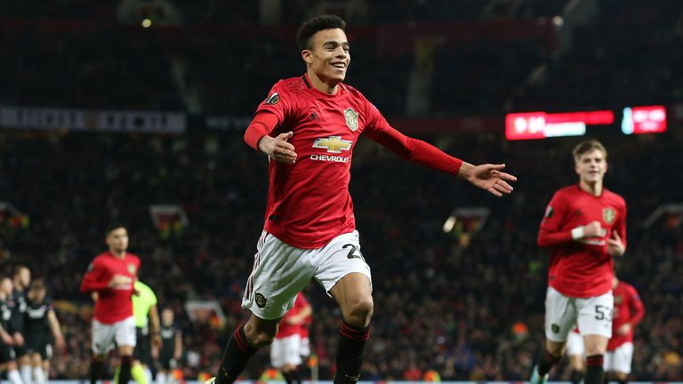 Only Marcus Rashford (13) has scored more goals than Mason Greenwood (6) in all competitions for Manchester United this season.