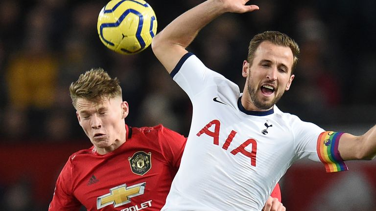 Harry Kane had a night to forget at Old Trafford