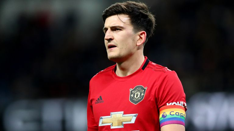 Harry Maguire arrived at Old Trafford from Leicester in an £80m deal last summer