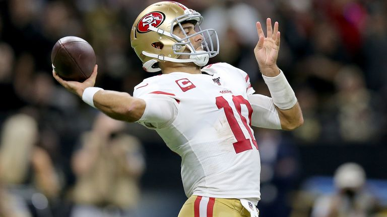 Jimmy Garoppolo enjoyed a big moment in this week's round of games