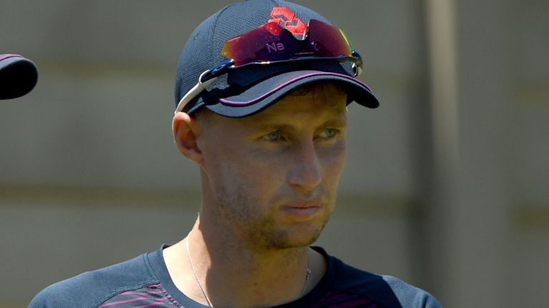 Joe Root is back training with England ahead of the third Test in South Africa after a bout of illness