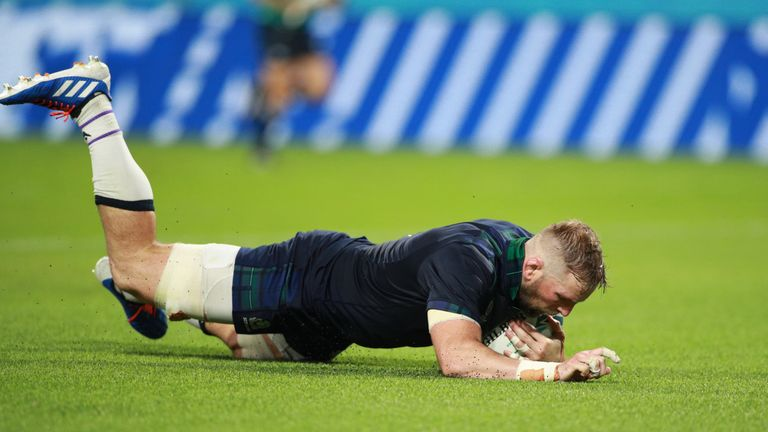 Barclay scored seven tries in his 76 game for Scotland