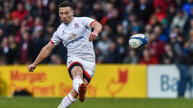 John Cooney kicked the winning points for Ulster against Harlequins