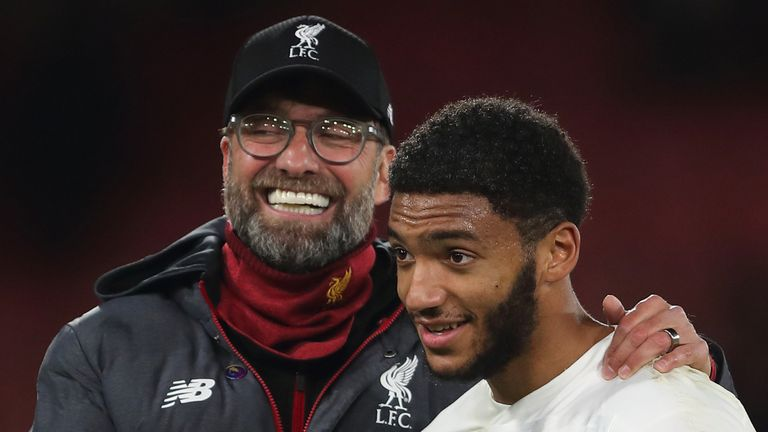 Gomez has paid tribute to the influence Klopp has had on his career