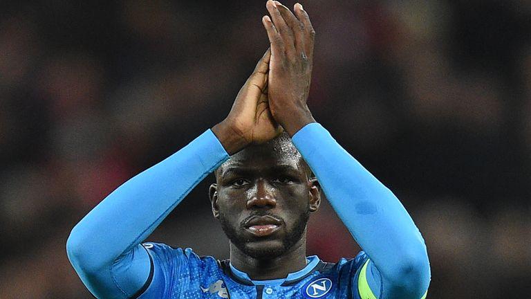 Kalidou Koulibaly has been with Napoli since 2014