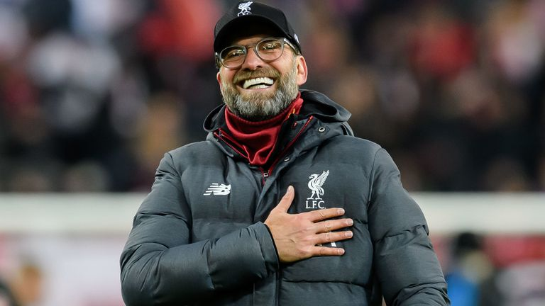 Jurgen Klopp praised Liverpool's performance in Salzburg