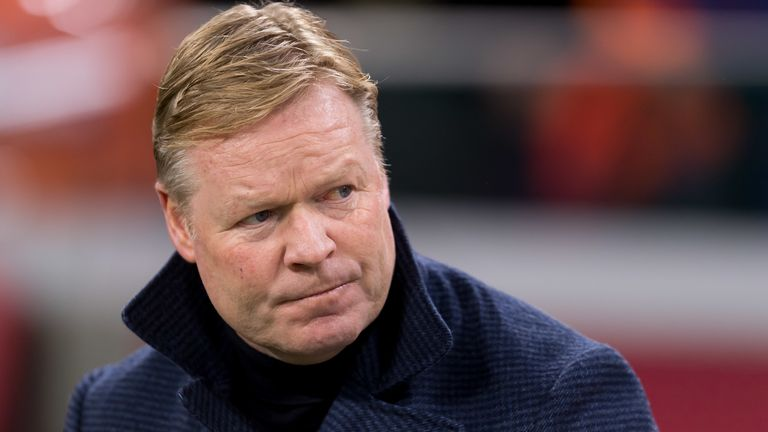 Ronald Koeman is the preferred choice of president Josep Maria Bartomeu