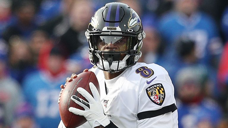 Baltimore Ravens quarterback Lamar Jackson is leading the Pro Bowl votes and looks certain to win the MVP award