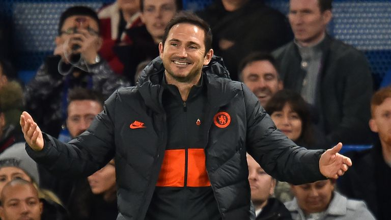 Frank Lampard says he feels no extra financial pressure to ensure Chelsea qualify for the Champions League