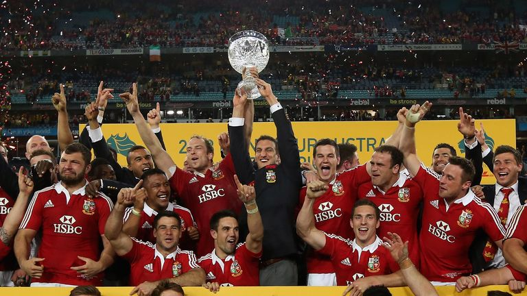 The 2013 tour brought the Lions a first victorious series for 16 years