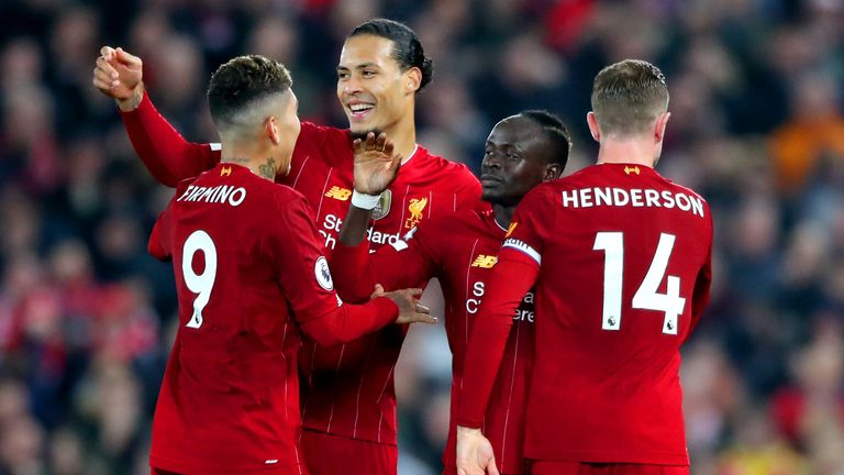 Liverpool on just two wins away from winning the Premier League for the very first time