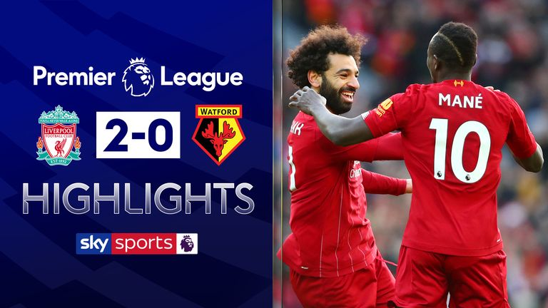FREE TO WATCH: Highlights from Liverpool's win over Watford in the Premier League