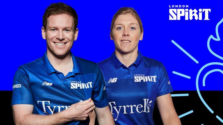 Eoin Morgan and Heather Knight will captain London Spirit