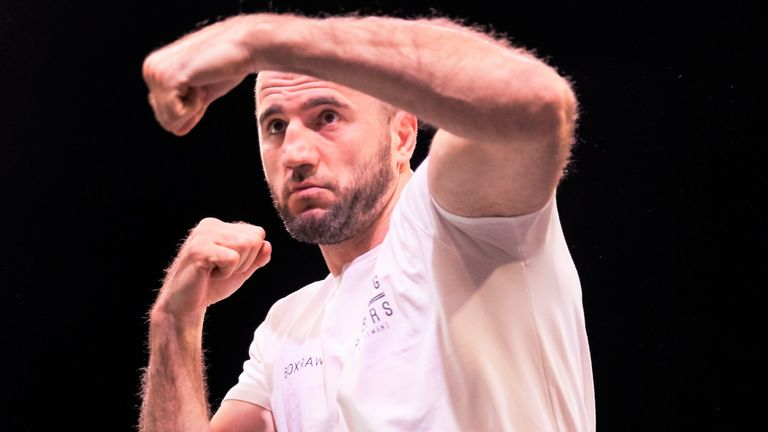 Majidov narrowly defeated Joshua in the 2011 world amateur final