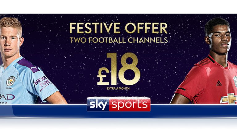 Take advantage of our festive football offer this Christmas