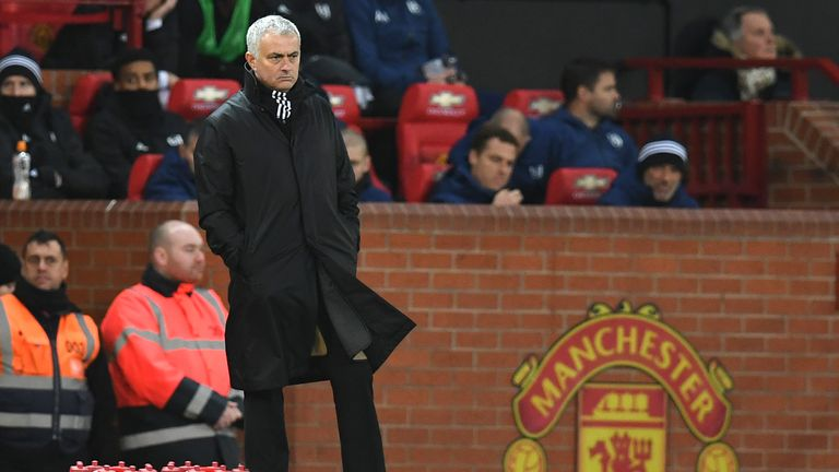 Jose Mourinho was sacked by Manchester United in December 2018