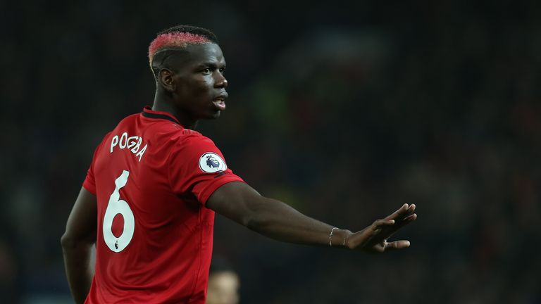 Paul Pogba's future at Old Trafford remains the subject of much speculation