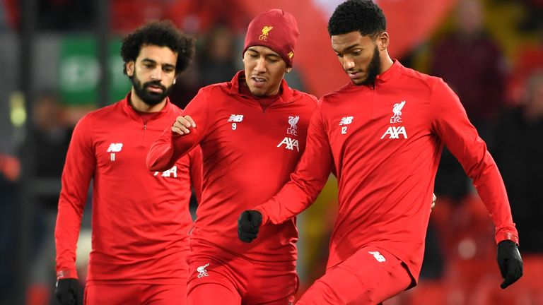 Mohamed Salah and Roberto Firmino were both rested for the Merseyside Derby