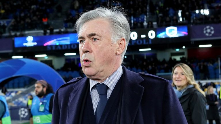 Napoli had not won in nine games in all competitions prior to beating Genk in the Champions League - Ancelotti's last game in charge
