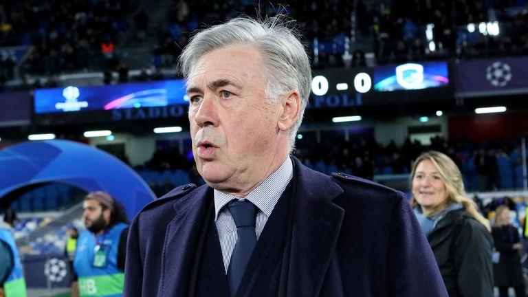 Carlo Ancelotti has taken charge of Everton