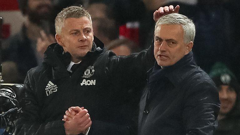 Solskjaer got the better of former United manager Jose Mourinho on Wednesday