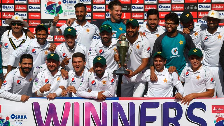 Image result for Pakistan wins TEST SERIES