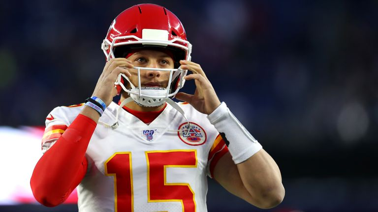 Patrick Mahomes is getting back to his best at the right time for the Kansas City Chiefs