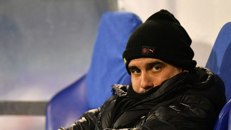 Pep Guardiola does not want to risk a repeat of last year's drop in form during December