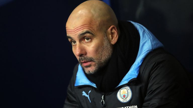 Guardiola has suffered six league defeats this season, the same number as in City's two title-winning campaigns combined