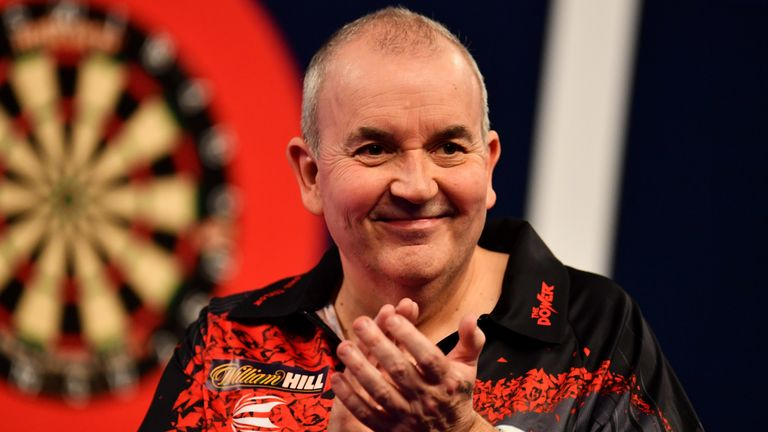 Phil Taylor is a record 16-time world champion