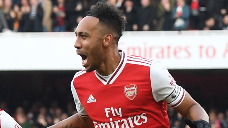 Pierre-Emerick Aubameyang scored in the last fixture between the two but will miss this clash
