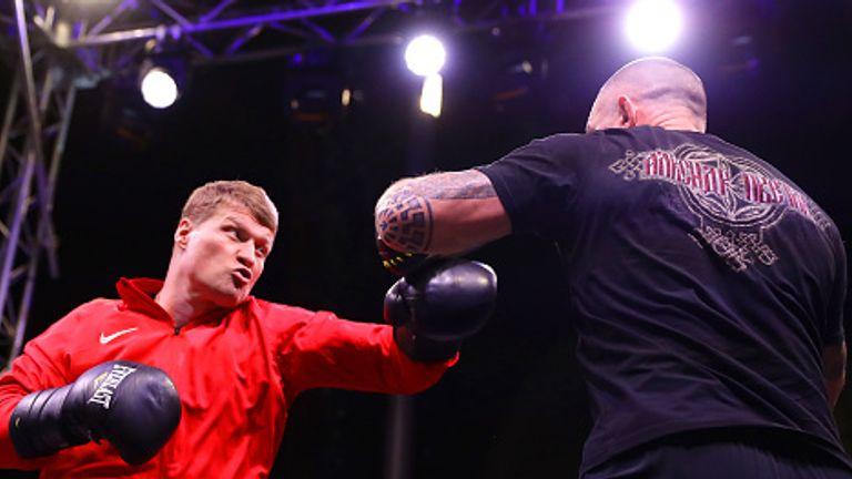Povetkin returned to beat Hughie Fury earlier this year
