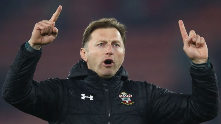 Hasenhuttl was appointed Southampton manager in December 2018